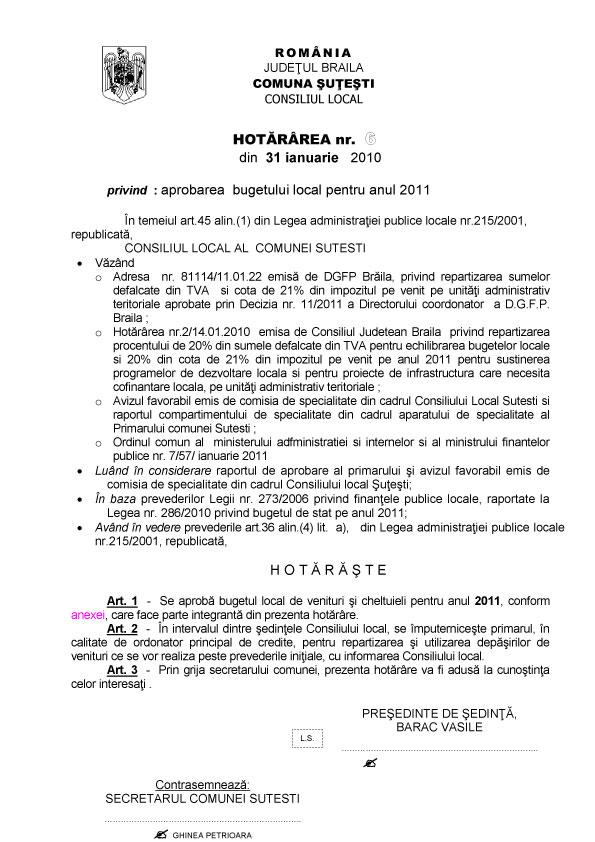 Hotararea-nr.-6-din-31.01.2011